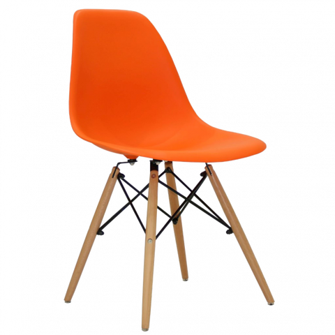 SALINA DINING CHAIR (ORANGE)