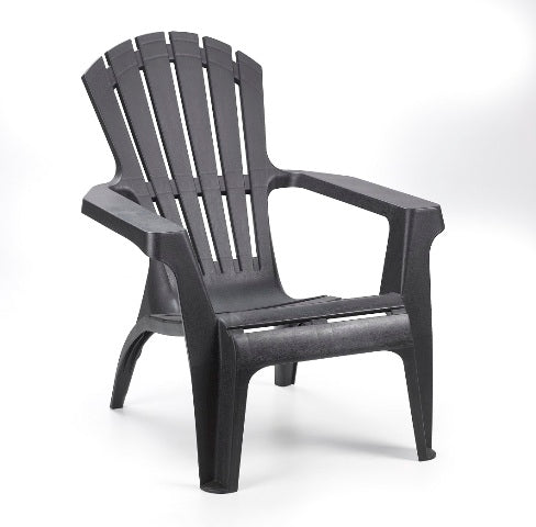 ADIRONDACK CHAIR PLASTIC (BLACK)