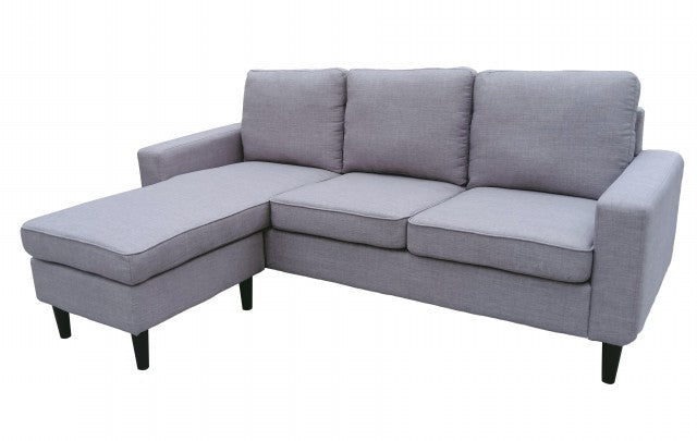 LIN CORNER SOFA  (LIGHT BROWN)