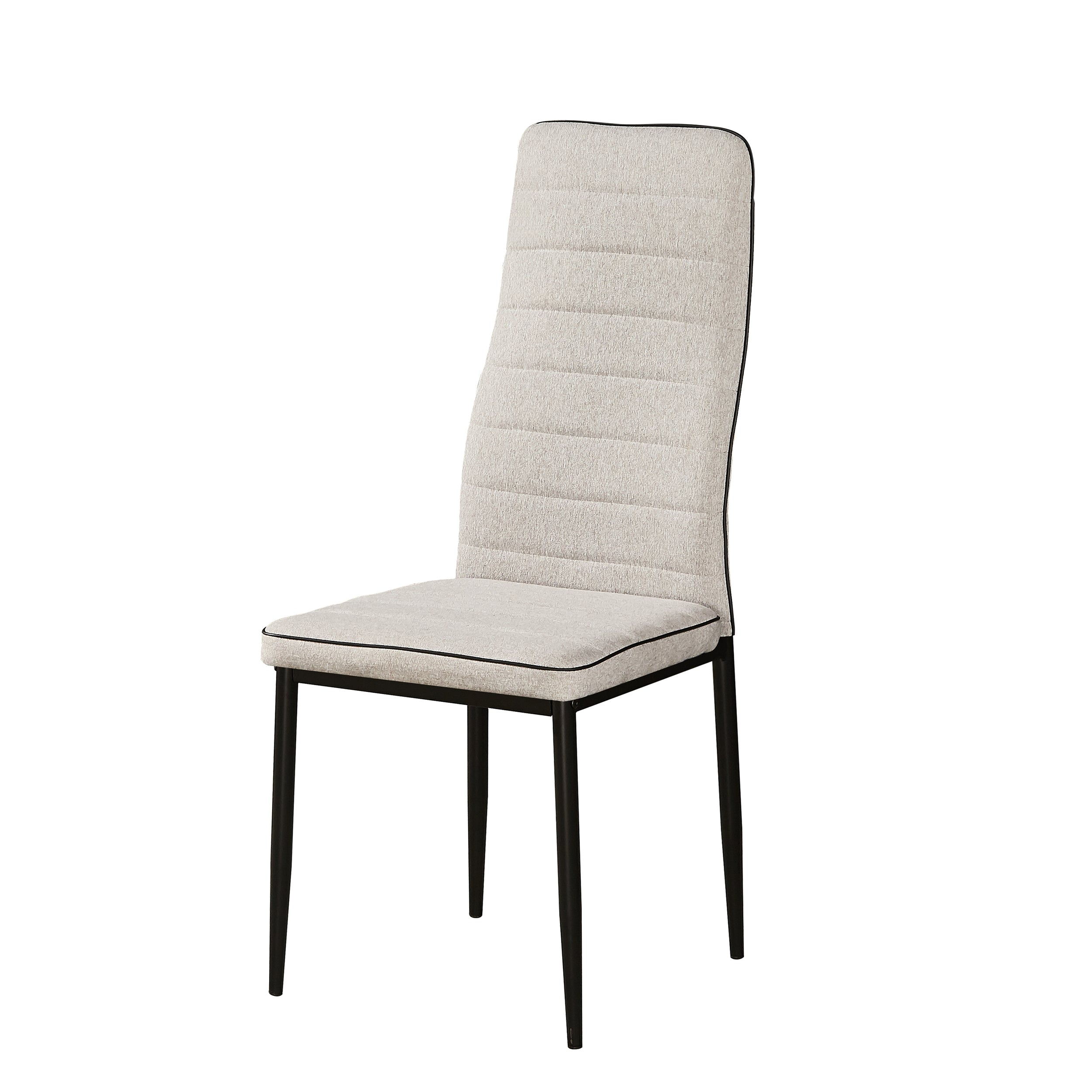 NERITA DINING CHAIR LIGHT GREY