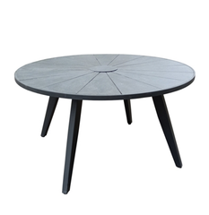 NATJA ROUND DINING TABLE W/CERAMIC TOP