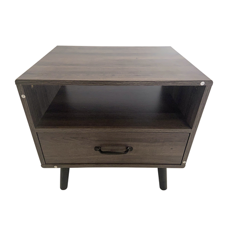 NIGHT STAND (BLACK/OAK)