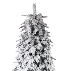 CHRISTMAS TREE WITH SNOW (7FT)