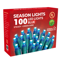 SEASON LIGHTS (100 LED LIGHTS) (16.2 FEET) ***VENTA FINAL***