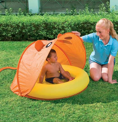 H2OGO! PLAY POOL WITH TWIST FOLD TENT (ASSORTED COLORS)