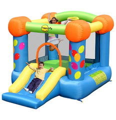 PARTY SLIDE AND HOOP BOUNCER
