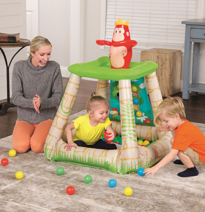 UP IN & OVER: JUNGLETIME BALL PIT & 25 PLAY BALLS