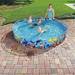 "D8' x H18""/D2.44m x H46cm Fill 'N Fun Odyssey Pool"