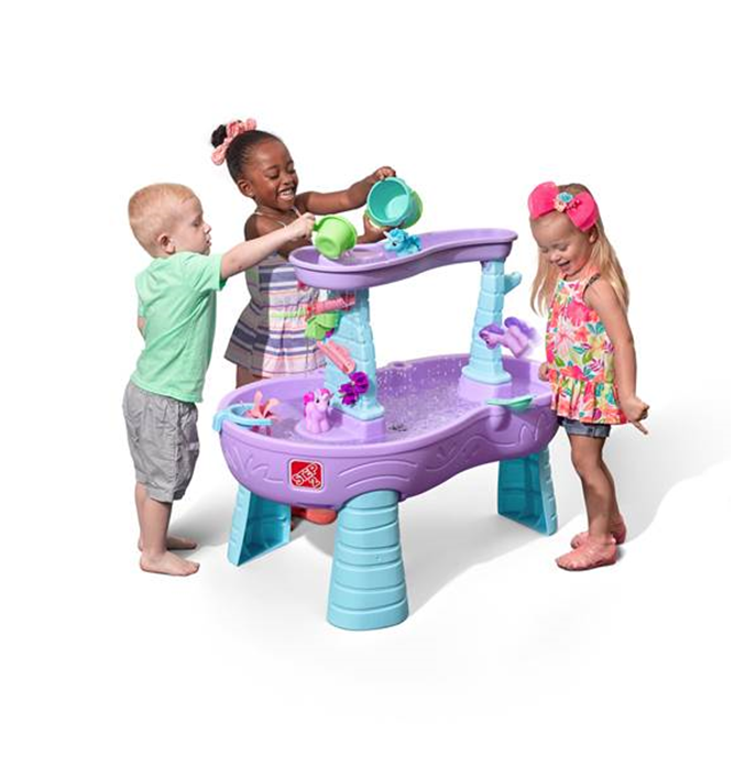 STEP 2® RAIN SHOWERS & UNICORNS WATER TABLE