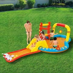 H2OGO! LIL CHAMP PLAY CENTER INFLATABLE ONE POOL SET
