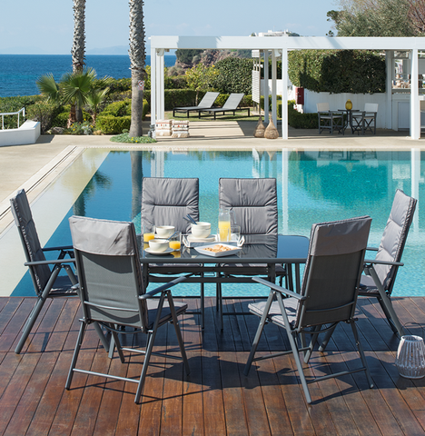 DANNY PATIO SET 7 PCS.