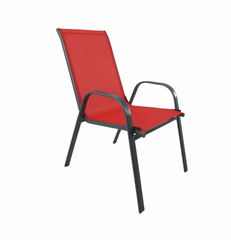 Santiago 7pcs Patio Set (Red)