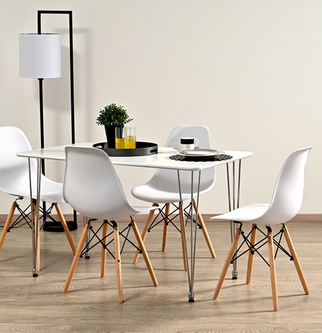 SALINA DINING CHAIR (WHITE)