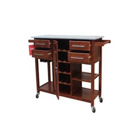 KITCHEN TROLLEY - MARBEL TOP