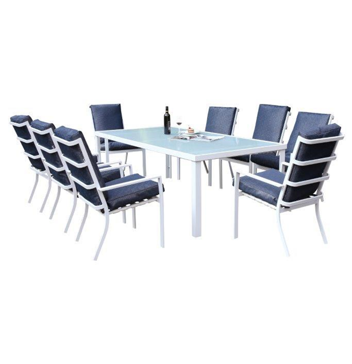 BONDI 9PCS PATIO SET