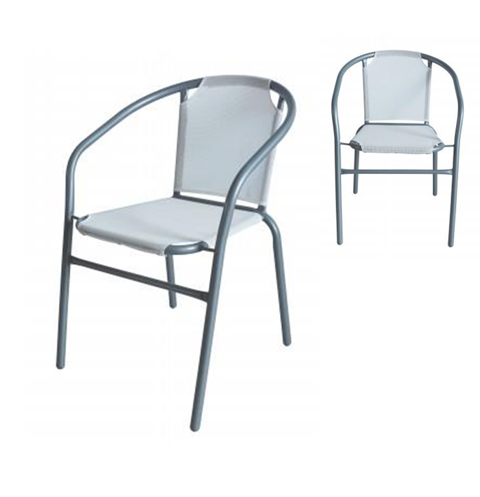 MANDY TEXTILINE CHAIR (WHITE)