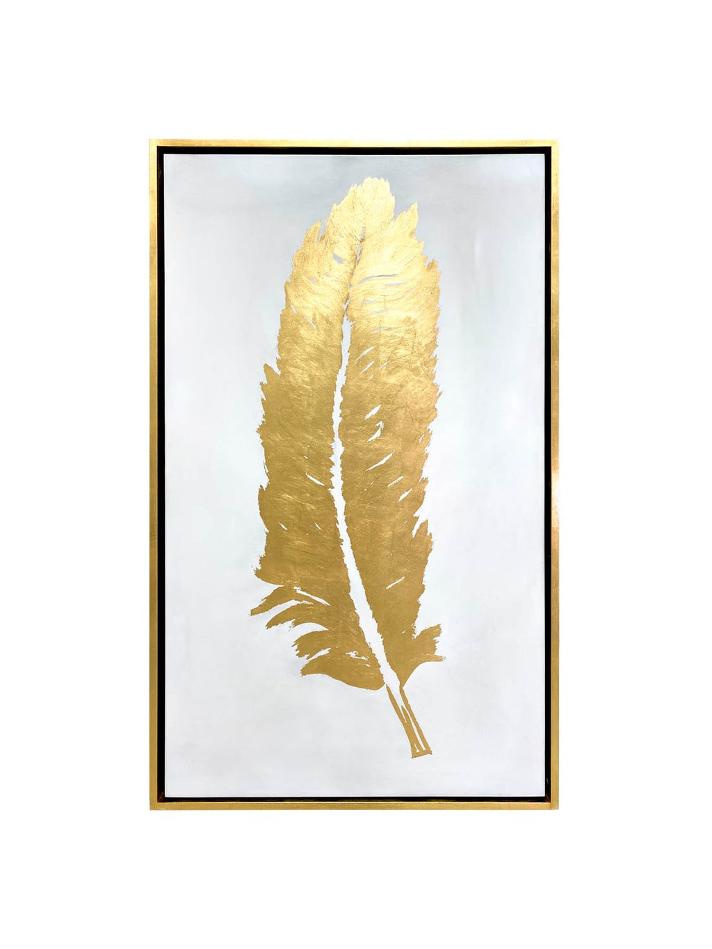 Cuadro C.Aura Gold Shadow Feathers set 2