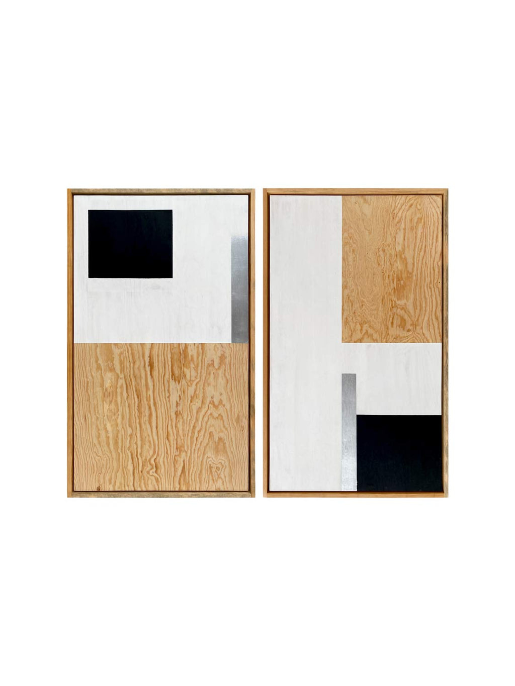Cuadro C.Aura Wood Block set 2