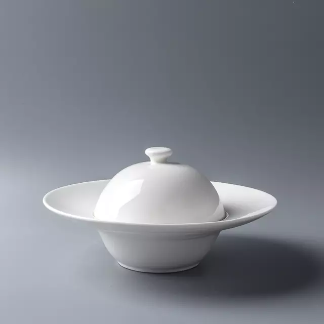 Cherven Sphere Deep Soup Bowl with Cover - Cherven Tableware Supplies