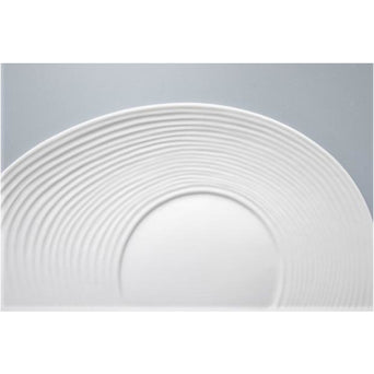 "Beautiful 12"" inch Porcelain Cherven Tableware Transverse Oval Plate - Cherven Tableware Supplies"