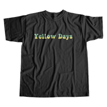 Load image into Gallery viewer, A Day in a Yellow Beat + Black Tee
