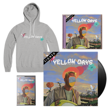 Load image into Gallery viewer, Yellow Beat - Hoodie + CD + LP + Cassette (Signed)