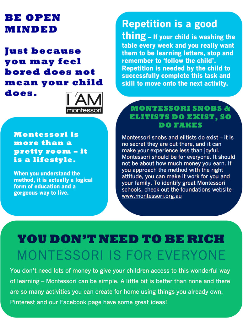 5 Facts every parent should know about Montessori...