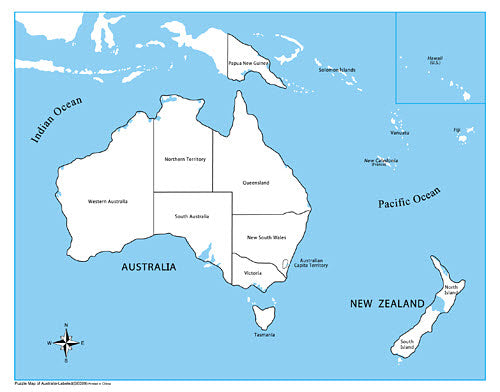 Map Of Australia Labeled.Labeled Australia Control Map
