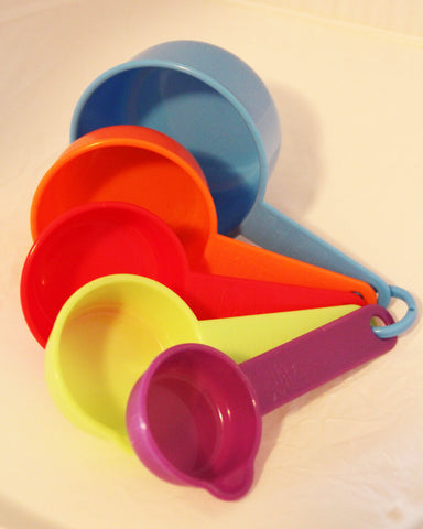 Measuring Cups - coloured