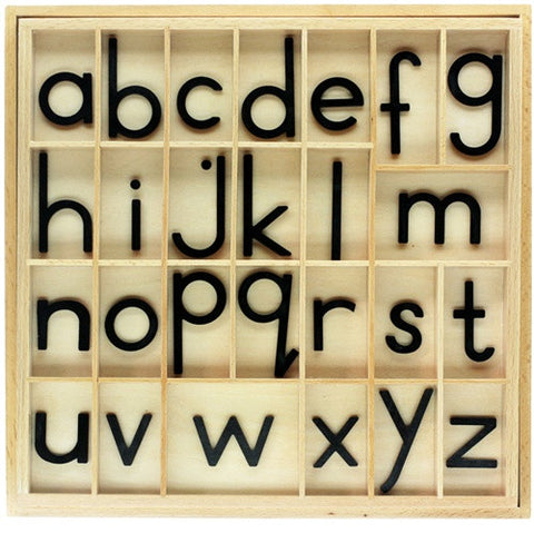 *Black Small Moveable Alphabet