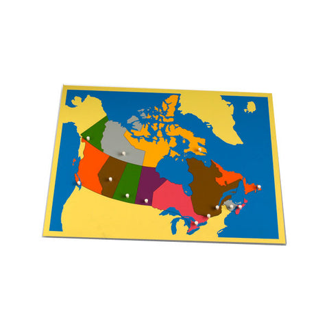 *Puzzle Map of Canada
