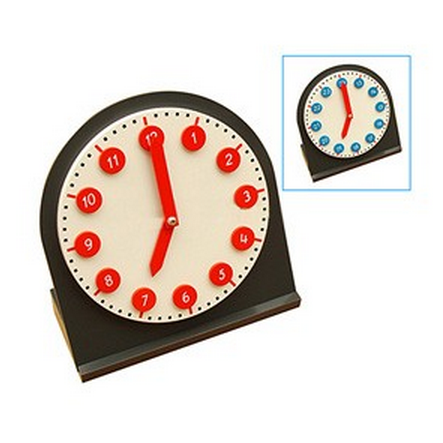 Clock With Moveable Hands