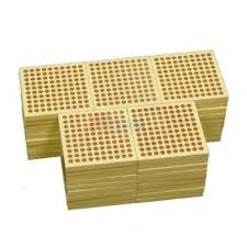 45 Wooden Hundreds Squares