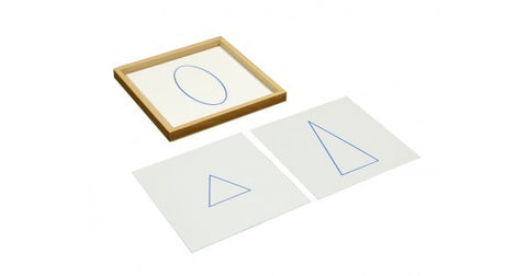 *Geometric Cards with Tray