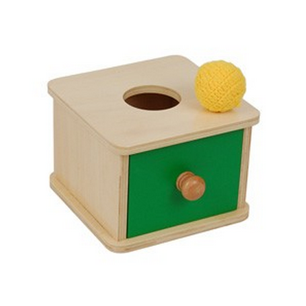 *Imbucare Box w/ Knitted Ball