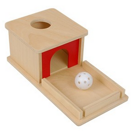 Object Permanence Box w/ Tray