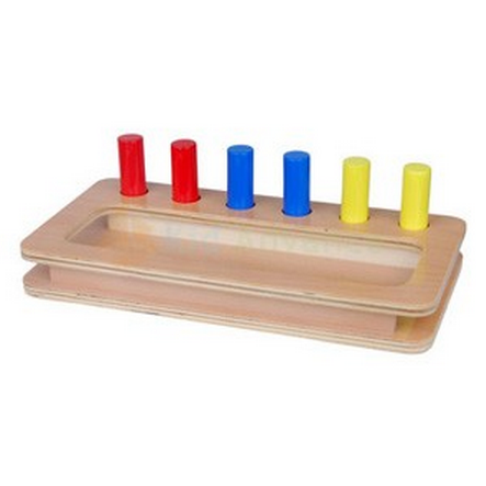 Toddler Imbucare Peg Box