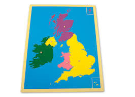 Puzzle Map of UK