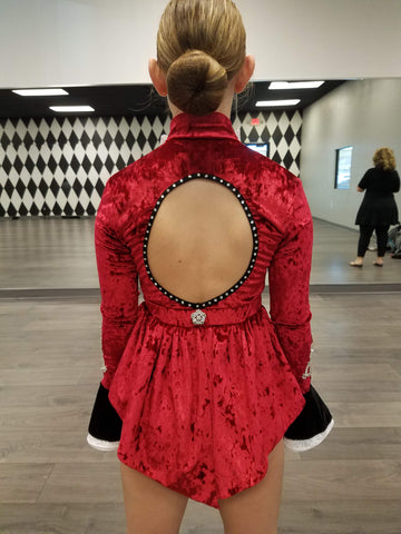 Back of The Greatest Showman Costume