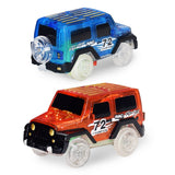 1pc Electronics Cars Toys With Flashing Lights Educational Toys For Children Boys Birthday Gift Boy Play Track Toy Car