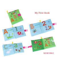 Cloth Baby Book Intelligence Development Educational Toy Soft Cloth Learning Cognize Books For 0-12 Months Kids Quiet Book#
