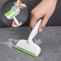 2 Heads Sofa Bed Seat Gap Carpet Pet Fur Dog Hair Remover Cleaning Brush Household Tools for Furniture