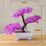 NEW Artificial Plants Bonsai Small Tree Pot Plants Fake Flowers Potted Ornaments For Home Decoration Hotel Garden Decor