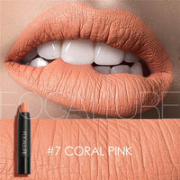 FOCALLURE 19 Colors Matte Lipsticks Waterproof Matte Lipstick Lip Sticks Cosmetic Easy to Wear Matte Batom Makeup Lipstick