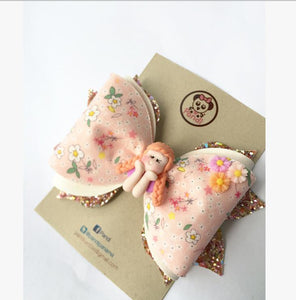 Anna Hair Clip / PANDI *Medium* DELUXE - My Sprinkle Girl