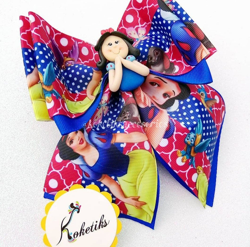 Princess Snow White ** Ribbon Boutique Bow / 6