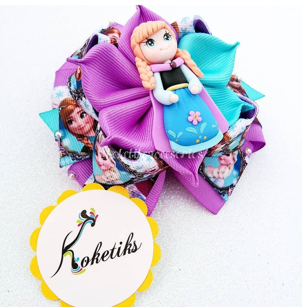 PRINCESS ANNA ** Ribbon Boutique Bow / 4