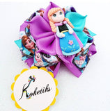 "PRINCESS ANNA ** Ribbon Boutique Bow / 4"" Disney - My Sprinkle Girl"