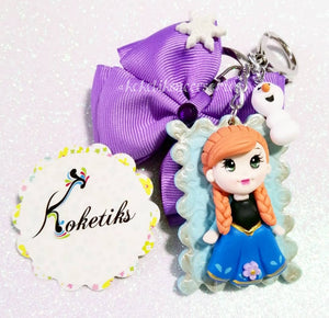 KOKETIKS ANNA FROZEN PRINCESS KEY CHAIN