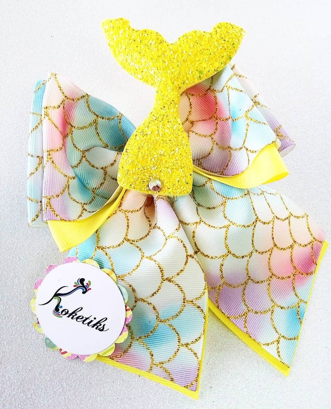 Mermaid Tail  ** Ribbon Boutique Bow / 6